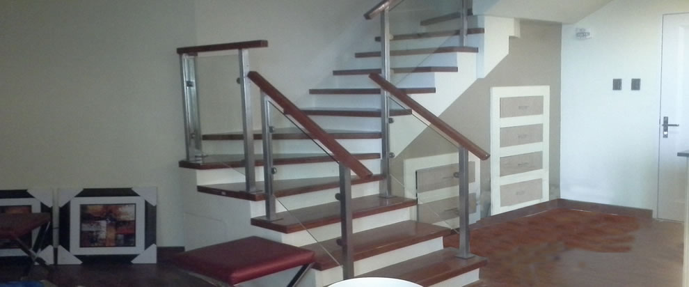 Glass Stair Railing On Condo Glass Railings Philippines