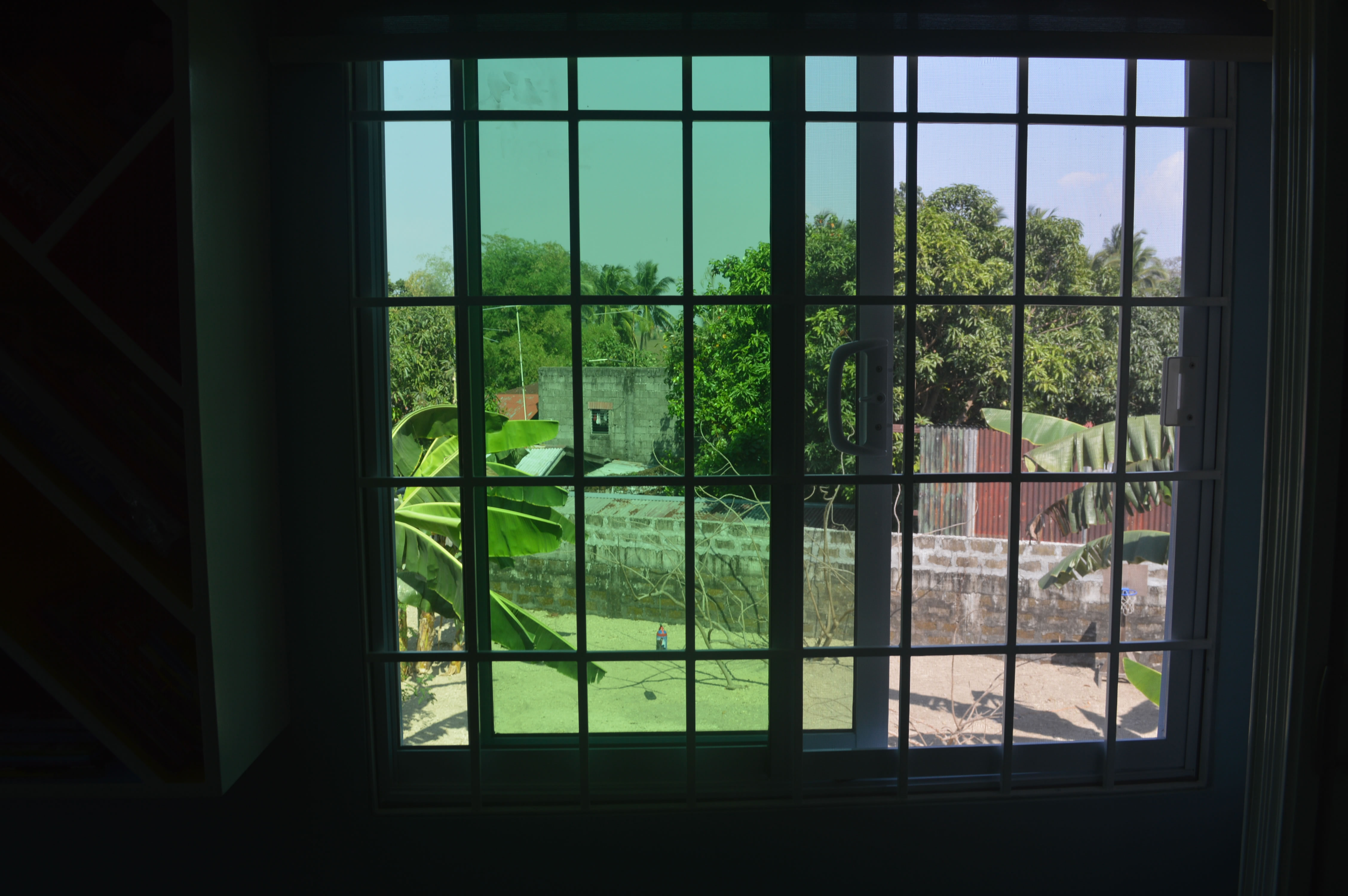 Sliding Window Grills Glass Railings Philippines Glass Railing Tempered Glass Wrought Iron