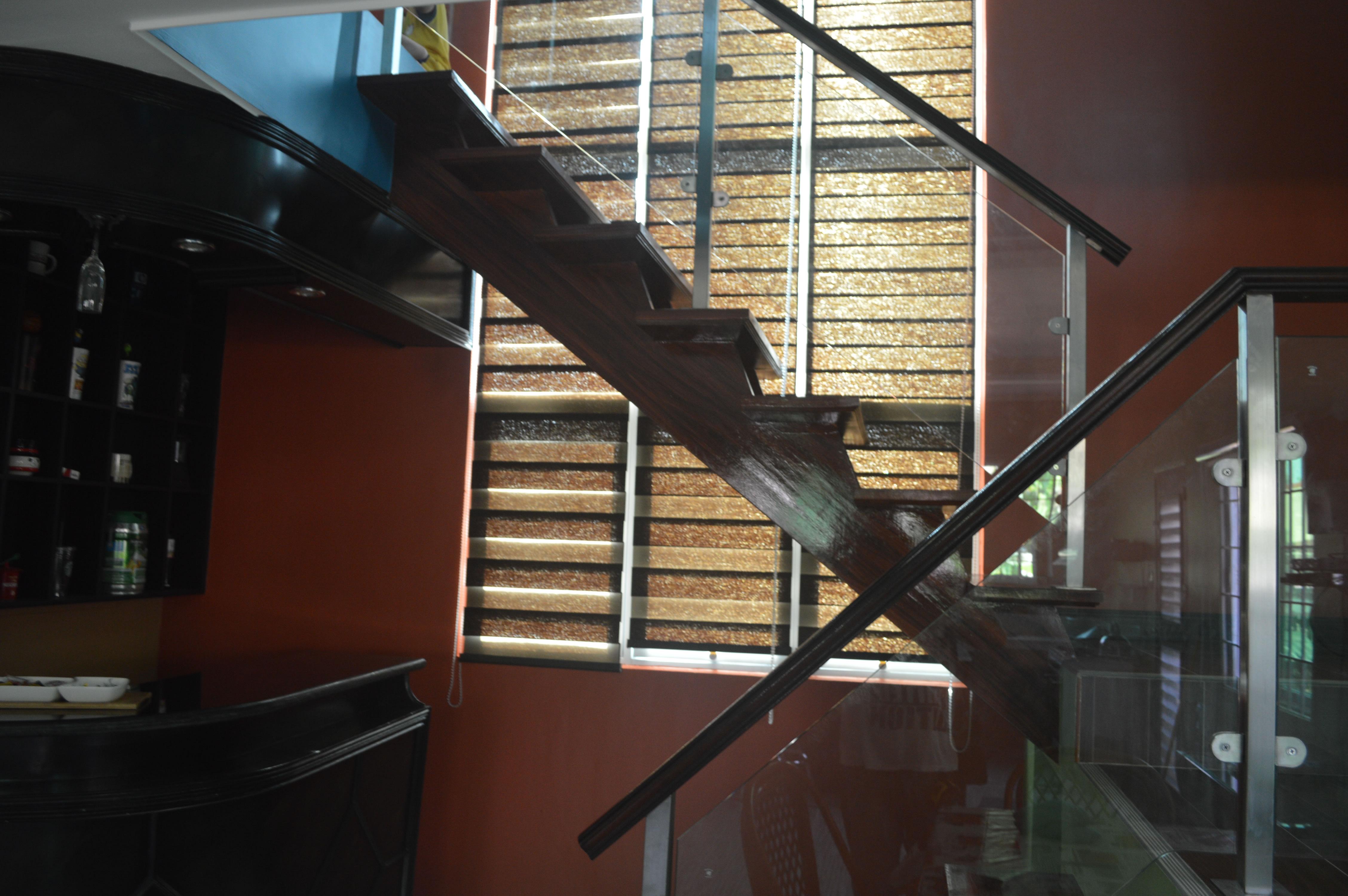 Modern Glass Stair Railing | Glass Railings Philippines ...