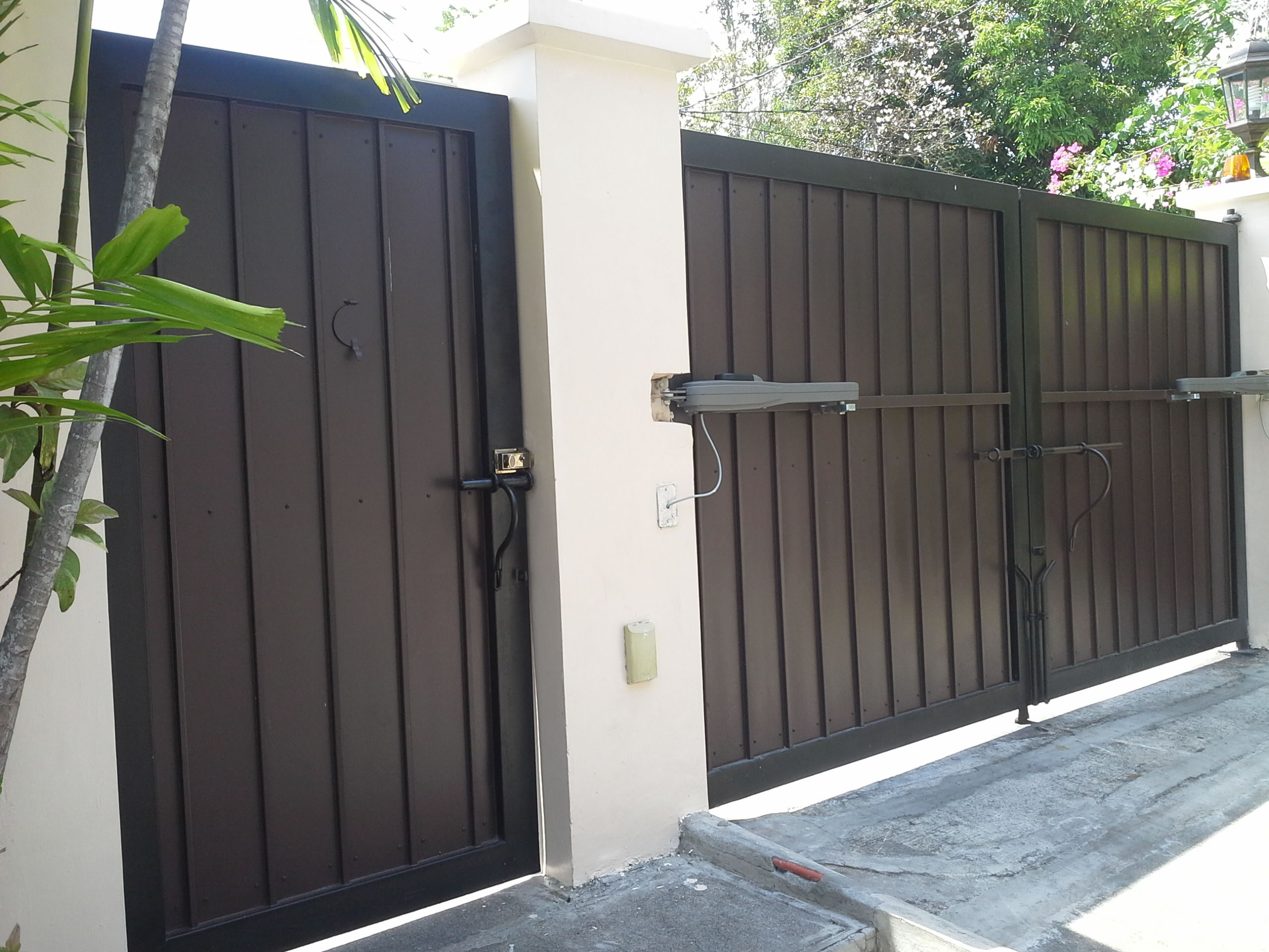Iron Sliding Doors Exterior